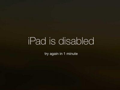 Toegangscode-kwijt-iPad